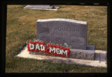 Lawrence and Marcell Poulson headstone, Ephraim, Utah, 1999