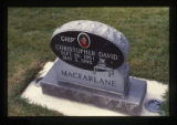 Christopher David Macfarlane grave marker, Ephraim, Utah, 1999 (4 of 5)