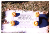 Benjamin Lewis Hendricks headstone, Logan, Utah, 1999 (196 of 198)
