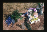 Max Turner floral grave decorations close-up, Salt Lake City, Utah, 2000 (15 of 16)