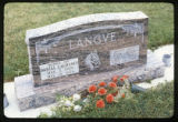 Gravemarker, Laurel, Montana, 1979 (2 of 4)