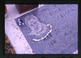 Close-up on Robert Crespin's grave marker, Ogden, Utah, 2000 (8 of 41)