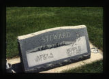 Steward headstone, Cody, Wyoming, 1997