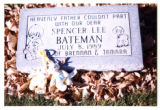 Spencer Lee Bateman grave marker, Woodside, Utah, 1989