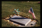 World War II veteran grave marker in Smithfield, Utah, 1999
