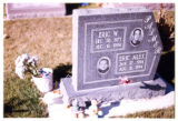 Eric W. and Eric Alec Palmer gravemarker, Logan, Utah, 1999 (2 of 2)