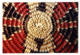 Navajo basket with ceremonial colors (1 of 4)