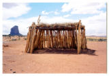 Navajo Shade Structure, Monument Valley, 2001