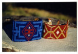 Tututni beaded wrist bands, Oregon (1 of 2)