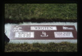Gravemarker, Jordan Valley, Oregon, 1999 (11 of 20)