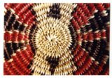 Navajo basket with ceremonial colors (3 of 4)