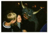 Krampus close-up, Neu Gotzens, Austria, 2001