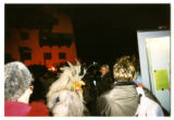 Krampus in a crowd, Neu Gotzens, Austria, 2001