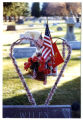 Wiley grave marker decorations, Logan, Utah, 1999 (39 of 198)