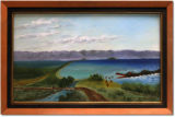 Painting of Bear Lake monster