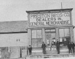 Preston Brother's Store, ca. 1890;