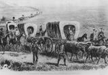 Wagon Trains 1860s;