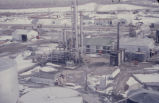 Uinta Oil Plant, aerial view;