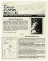 Logan Canyon Bulletin, January 1991
