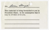 Correspondence from J. Calvin Giddings to Daryl Chase, December 11, 1961