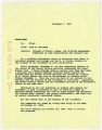 Memorandum from Jack Berryman to Files, November 7, 1961