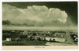 Aerial postcard of Montpelier, Idaho, 1908