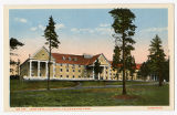 Lake Hotel Colonial postcard, Yellowstone Park, ca. 1920