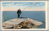 Fishing Cone postcard, Yellowstone National Park, ca. 1912