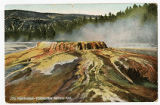Punch Bowl postcard, Yellowstone National Park, 1908
