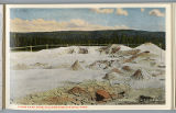 Thumb Paint pots postcard, Yellowstone National Park, 1912