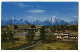 Jackson Lake Lodge postcard, ca. 1950