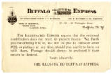 Letter to Jack London from The Illustrated Buffalo Express, undated
