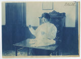 Woman hand sewing. Duplicate of 1:07:19, ACU, 1905