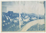 Students sitting in the balcony of Large Auditorium. Duplicate of 1:17:03, ACU, 1896-1916