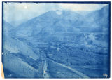 Mouth of Logan Canyon, Canyon Road, canal and Island area, looking east, ACU, 1896-1916
