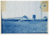 Willard S. Hansen Farm, Fielding, Utah. Farm buildings, water tower and windmill (duplicate), ACU,...