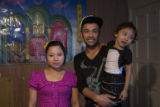 Ka Mar with his wife Sa Da De and daughter Ma Se Ma, Logan, Utah, May 15, 2015 (3 of 3)