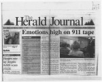 Emotions high on 911 tape