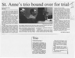 St. Anne's trio bound over for trial