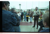 Cache County Sheriff, Brian Locke, talks to parents of trespassing youth -Image 2 of 5