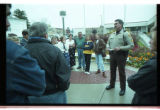 Cache County Sheriff, Brian Locke, talks to parents of trespassing youth -Image 4 of 23