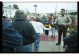 Cache County Sheriff, Brian Locke, talks to parents of trespassing youth -Image 6 of 23