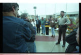Cache County Sheriff, Brian Locke, talks to parents of trespassing youth -Image 3 of 23