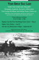 Your Great Salt Lake - Wetlands History Project events poster