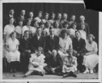 Lewiston (Utah) school class and teachers of an unknown year (3 of 7), 8th grade graduating class.