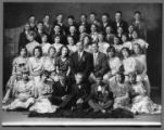 Lewiston (Utah) school class and teachers of an unknown year (6 of 7)