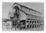 Cache Junction, Utah railway coal chutes, 1900