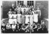 1940 Amos Griffin's 7th-8th grade class, Newton Grade School