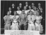 1933-1936 8th Grade Graduation class from the Newton Grade School