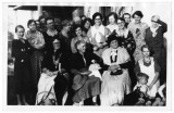 Birthday party in Newton, Utah in early 1900s, including identification key